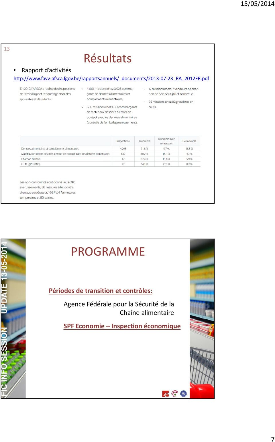 pdf FIC INFO SESSION UPDATE 13-05-2014 PROGRAMME Périodes de transition