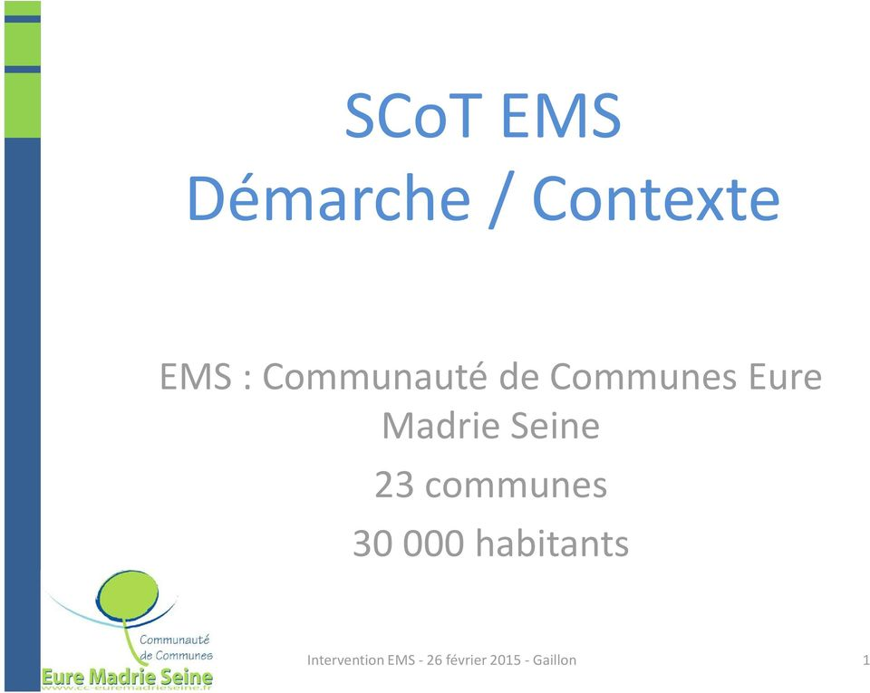 de Communes Eure Madrie