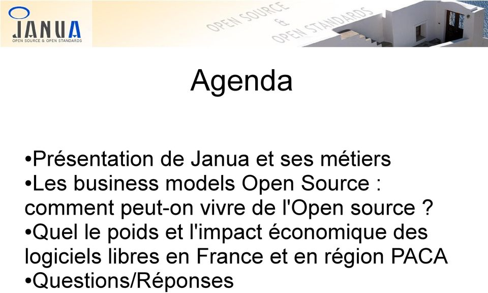 l'open source?