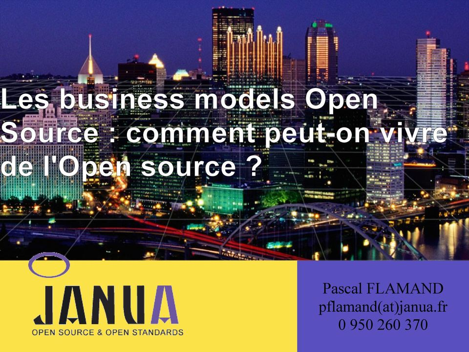 de l'open source?
