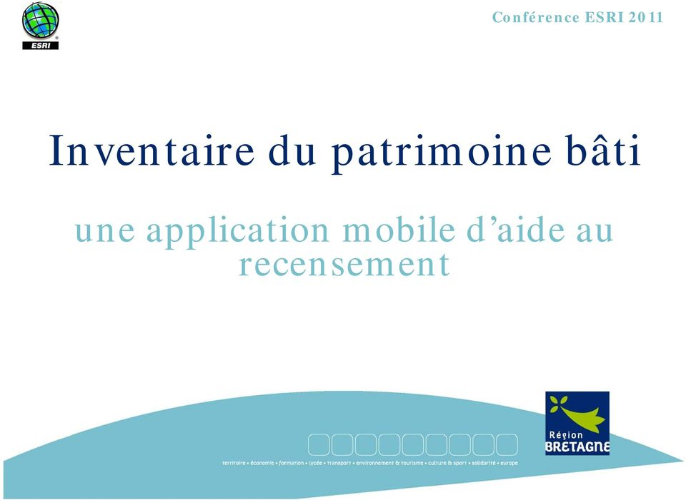 bâti une application