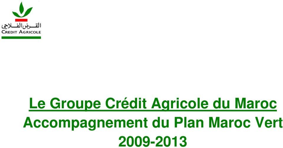 Accompagnement du Plan