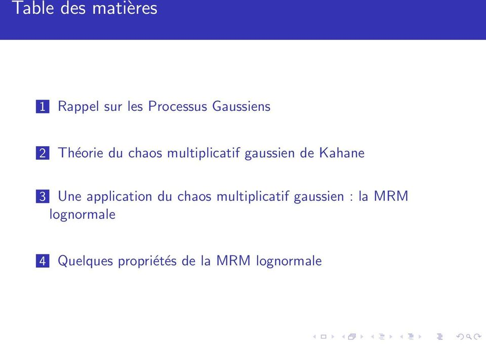 Kahane 3 Une application du chaos multiplicatif