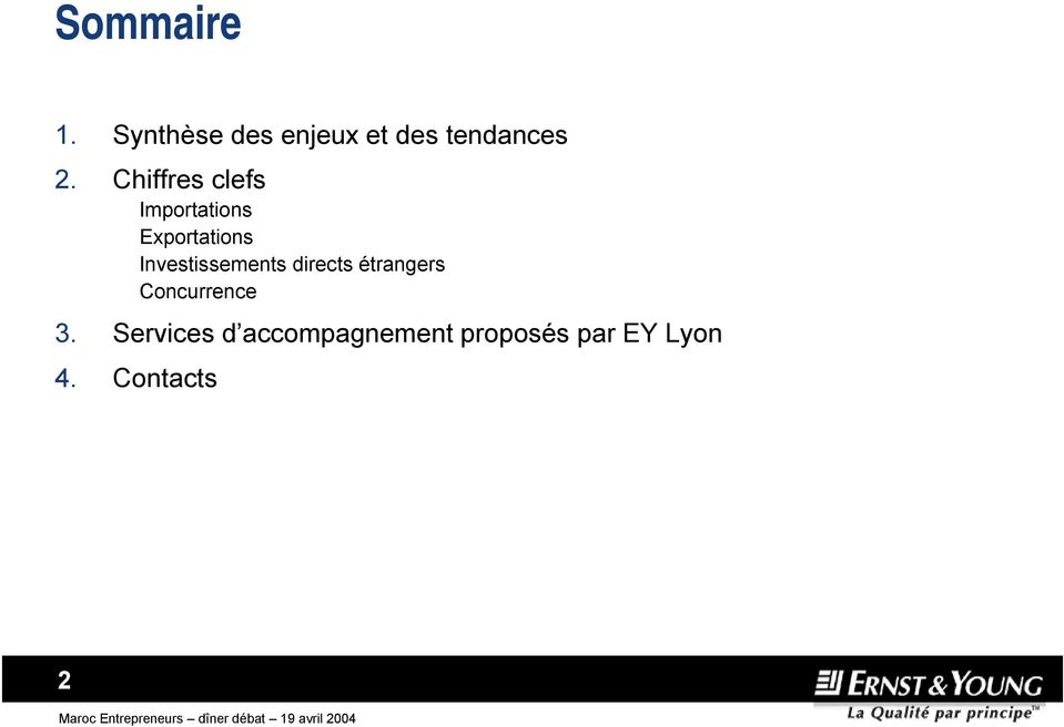 Investissements directs étrangers Concurrence 3.