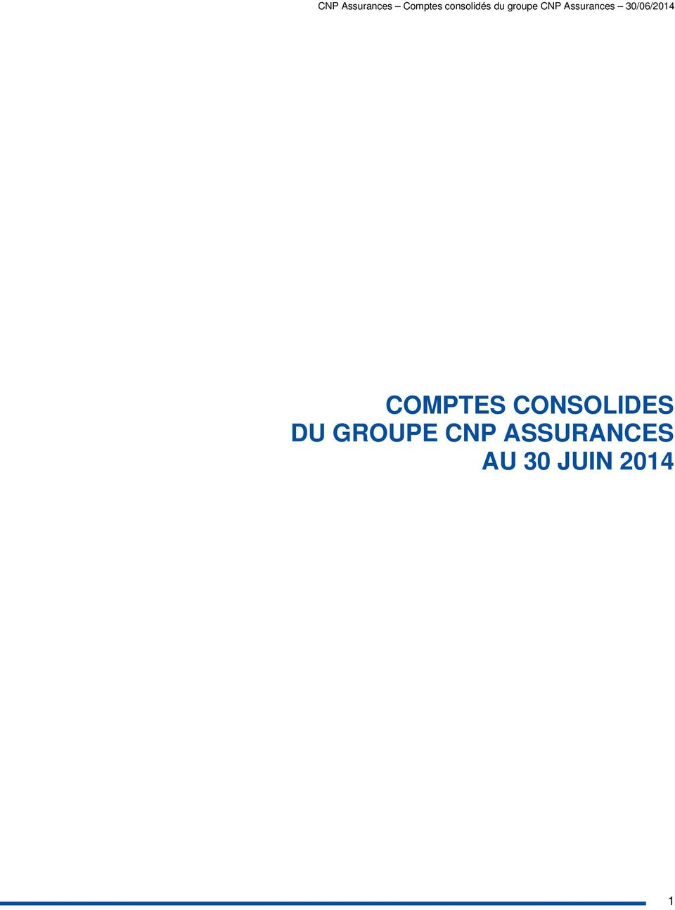 GROUPE CNP