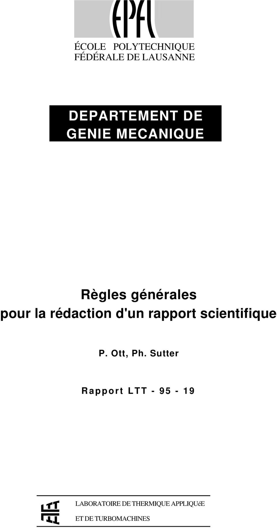 rapport scientifique P. Ott, Ph.