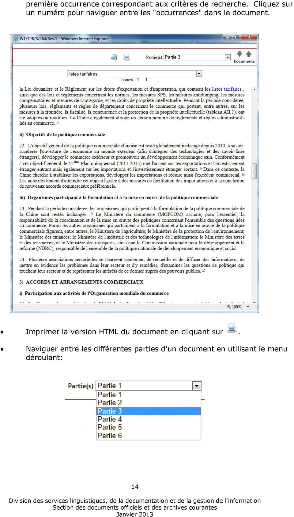 document. Imprimer la version HTML du document en cliquant sur.