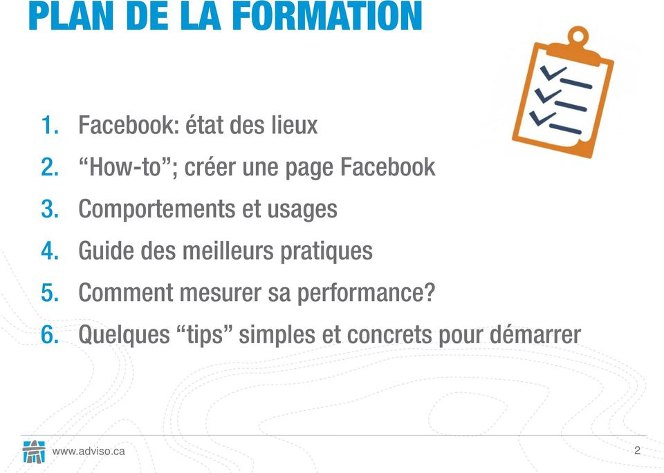 Comportements et usages 4.