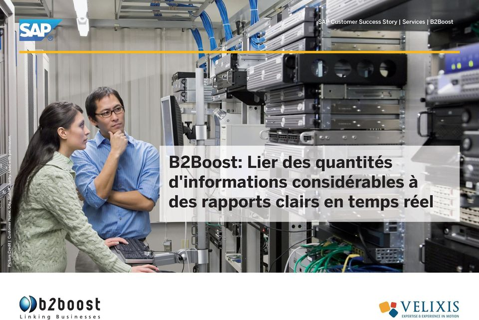SAP Customer Success Story Services B2Boost B2Boost:
