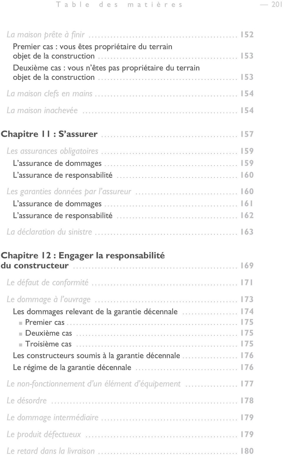Table des mati res introduction pdf for Chambre de l assurance de dommages