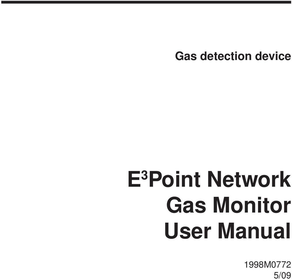 Network Gas Monitor