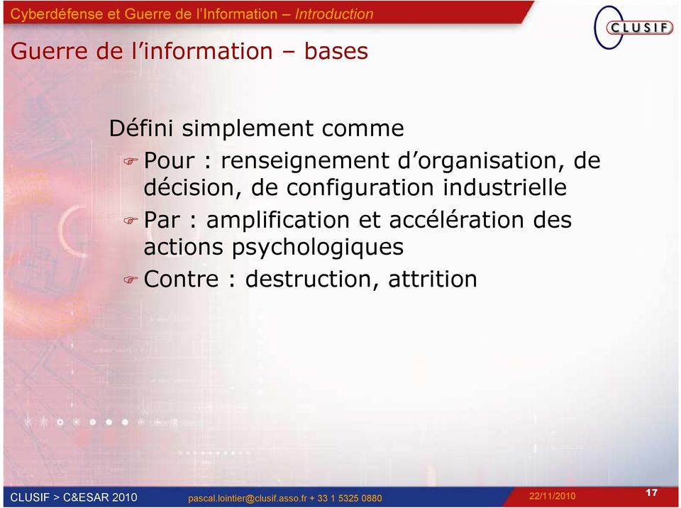 configuration industrielle Par : amplification et