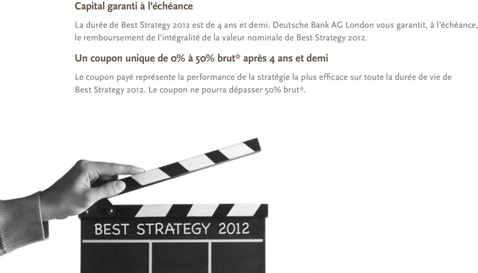 Best Strategy 2012.