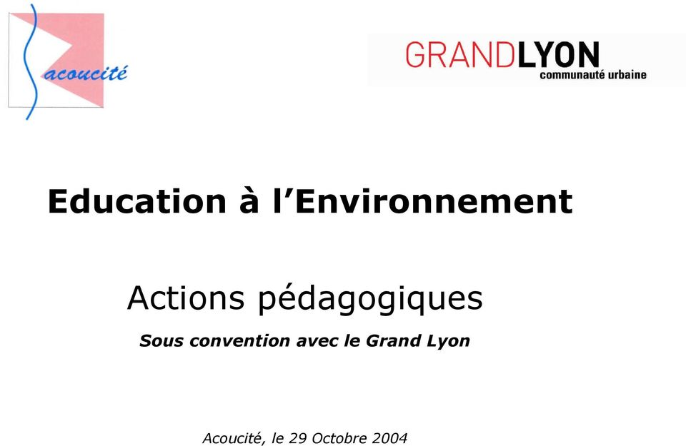 convention avec le Grand