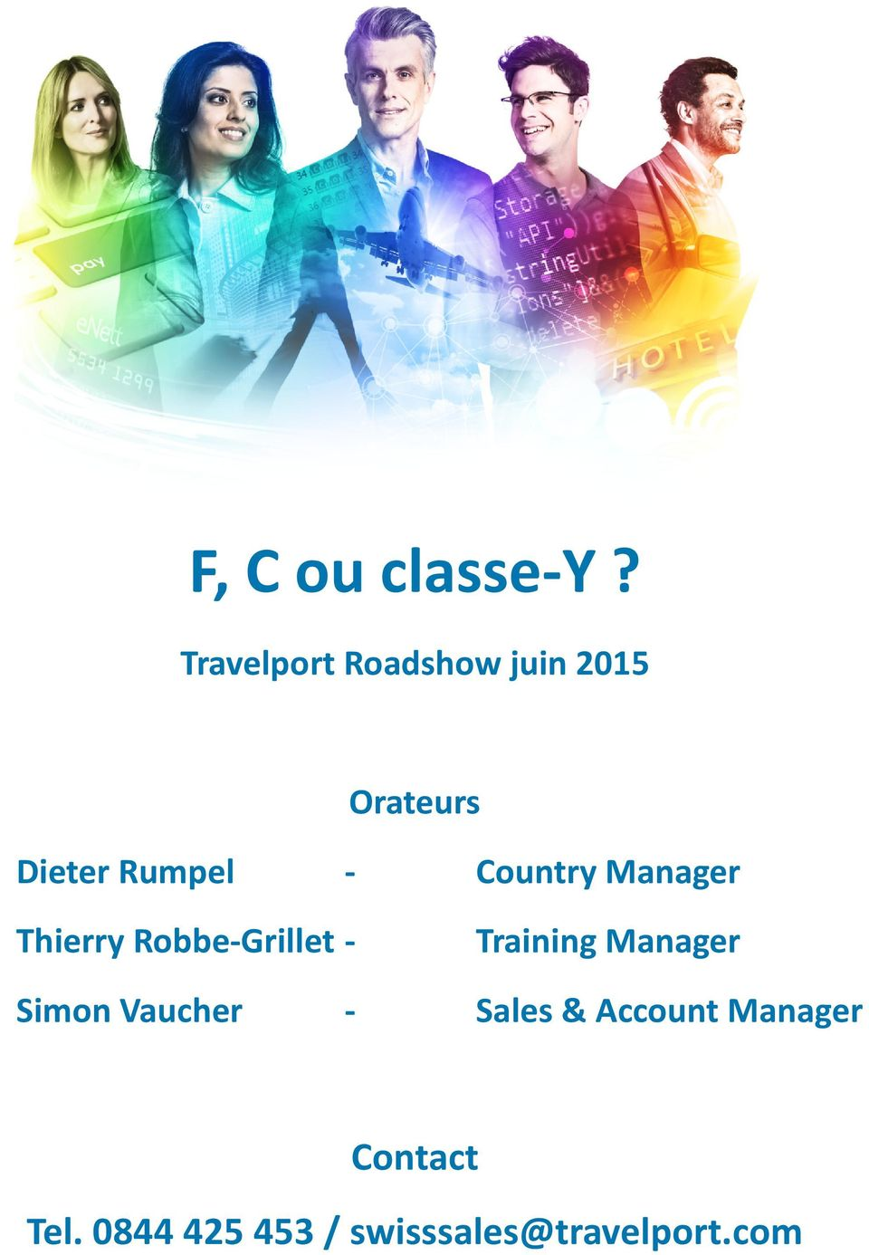 Country Manager Thierry Robbe-Grillet - Training
