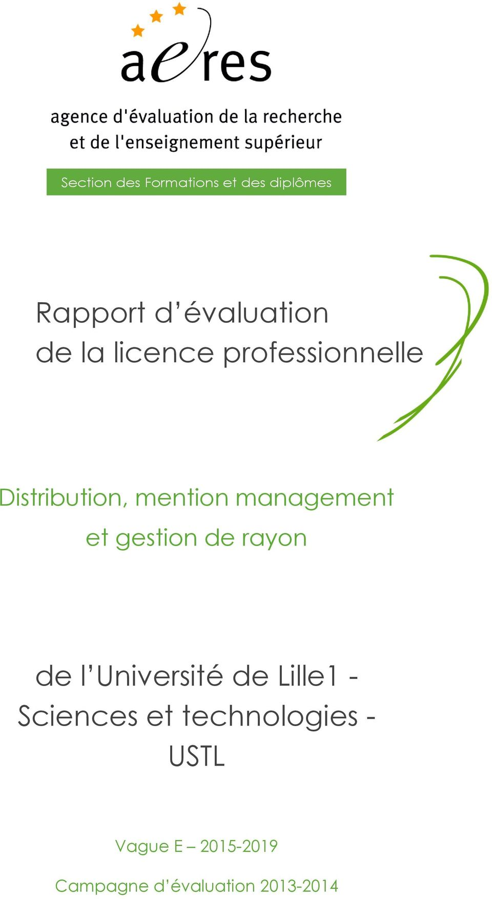 gestion de rayon de l Université de Lille1 - Sciences et