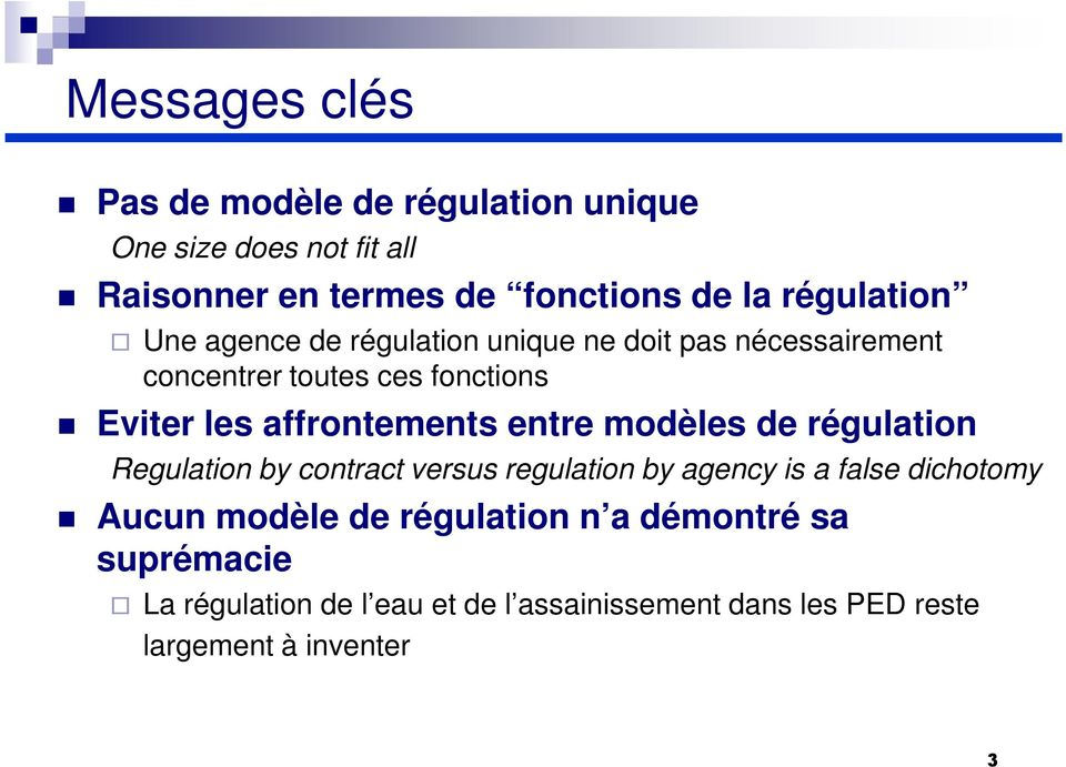 affrontements entre modèles de régulation Regulation by contract versus regulation by agency is a false dichotomy Aucun