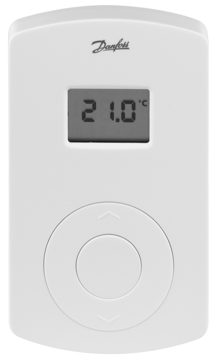 088U0212 GB Instruction CF-RD Room Thermostat with Display D Instruktion CF-RD Raum Thermostat mit Display DK Vejledning CF-RD Rumtermostat med display F Instruction CF-RD Thermostat avec écran SE