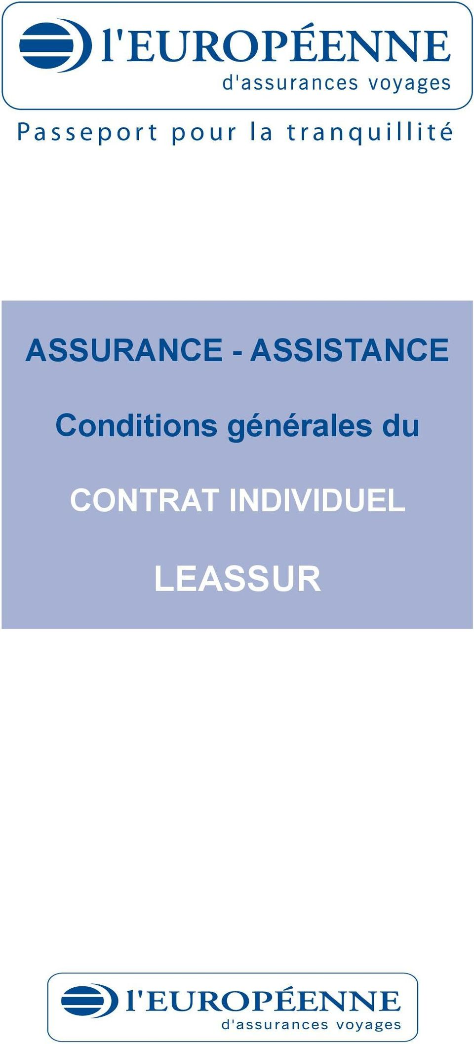 - ASSISTANCE Conditions