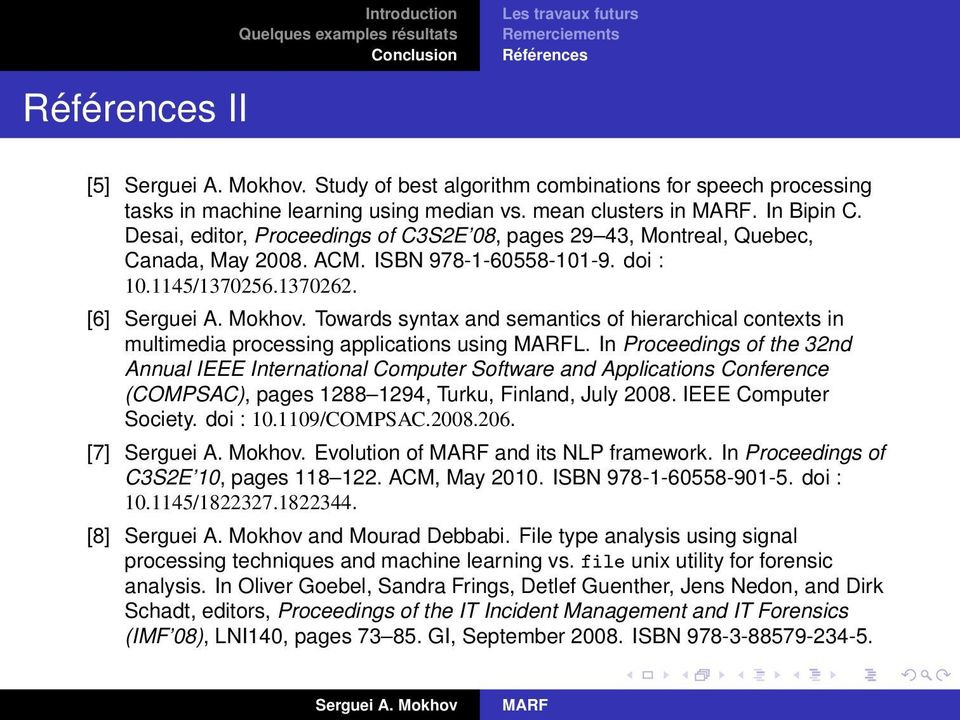 Towards syntax and semantics of hierarchical contexts in multimedia processing applications using L.