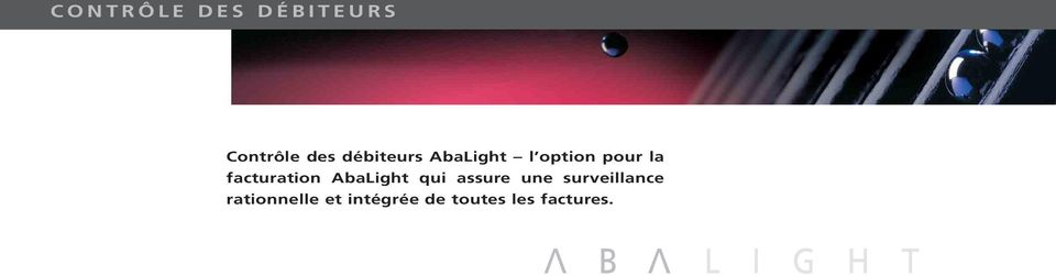 facturation AbaLight qui assure une