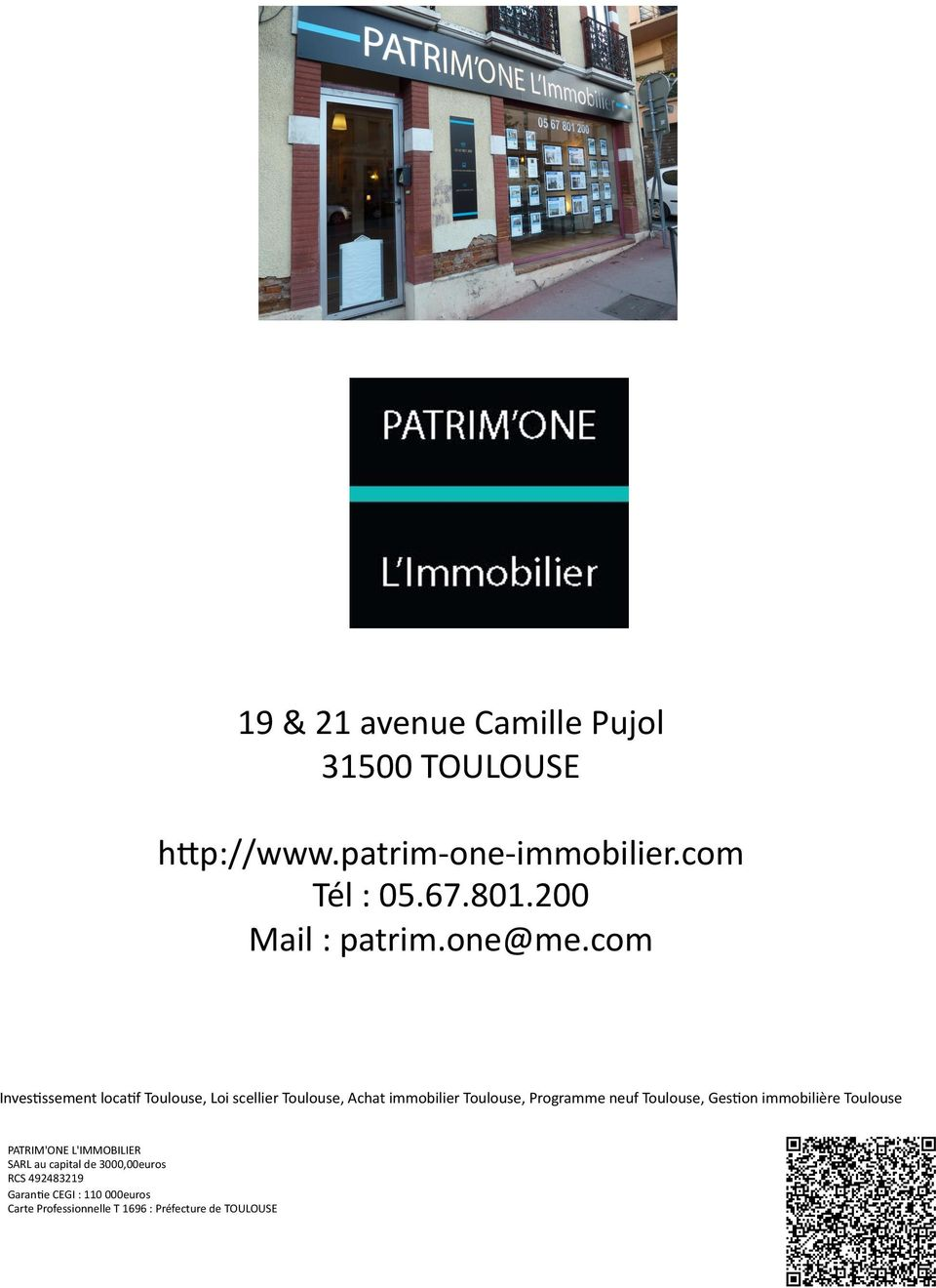 com InvesEssement locaef Toulouse, Loi scellier Toulouse, Achat immobilier Toulouse, Programme neuf