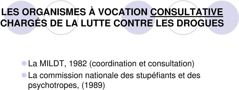 (coordination et consultation) La commission