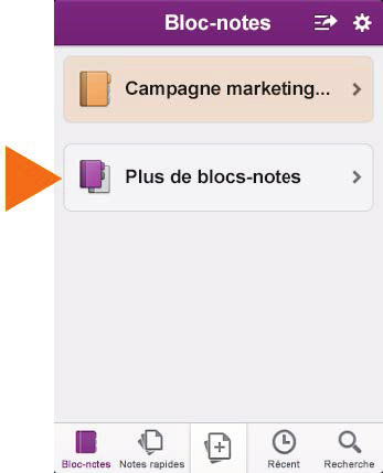 Utiliser l application OneNote Synchroniser les blocs-notes Office 365 Si vous avez des blocs-notes que vous utilisez régulièrement sur les sites Office 365 SharePoint, vous pouvez les synchroniser