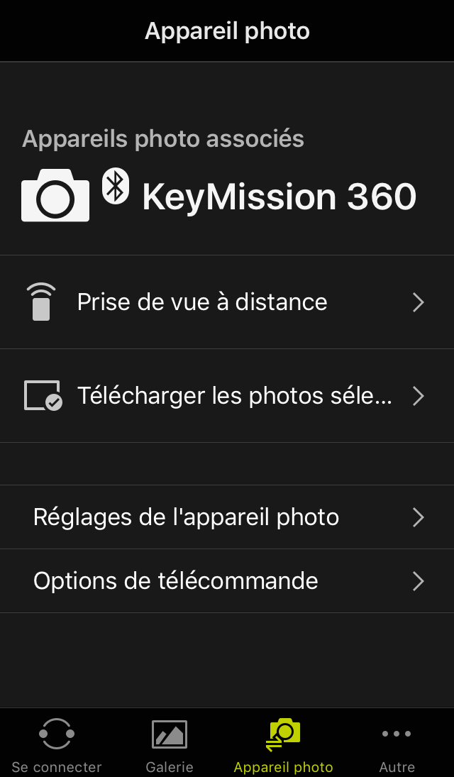 Android ios 3 Vérifiez que la version du firmware