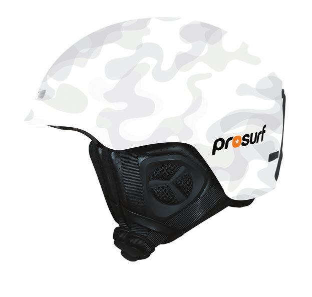CAMO CAMO BLACK CAMO PINK CAMO WHITE CASQUE IN-MOLD ULTRA LEGER (420G) Norme CE en 1077