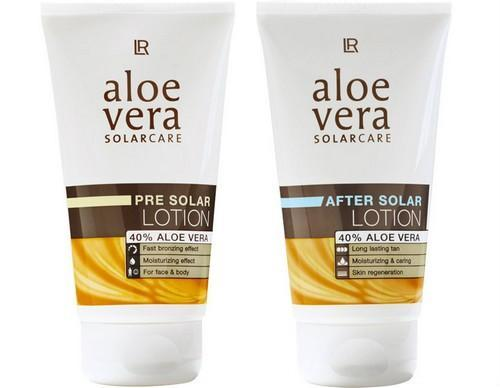 Solarium set : Pre solar lotion 150 ml + After Solar