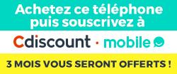 Carte Sim Cdiscount.Un Telephone Echo Mobile First Achete Une Carte Sim Cdiscount