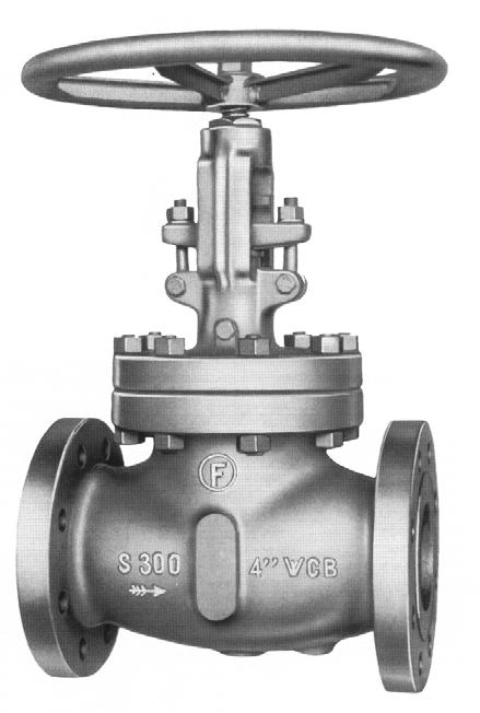 Document non contractuel D - 103 ROBINETS A SOUPAPE ACIER MOULE - SÉRIES 150 À 1500 LBS CAST STEEL GLOBE VALVES - CLASS 150 TO 1500 LBS CARACTERISTIQUES GENERALES - GENERAL FEATURES Tige tournante -