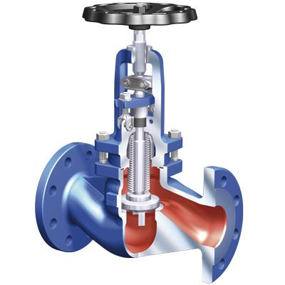 Document non contractuel D - 99 ROBINETS A SOUPAPE A SOUFFLET ARI ARMATUREN ARI ARMATUREN BELLOWS SEALED GLOBE VALVES FABA -SUPRA C - FABA -SUPRA C Pour applications chimiques Fluides : vapeur, gaz,