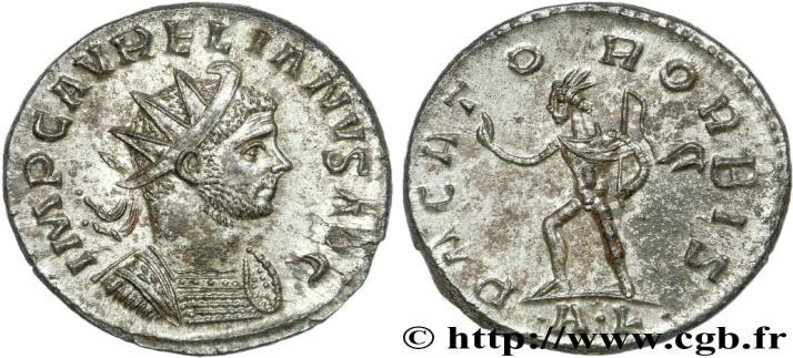 6; RCV III n 11576] Emission 2 (2 officines: AL; CL) * Aurélianus