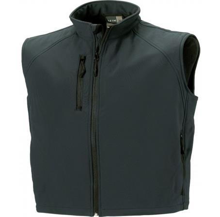 BODYWARMER OFTHELL HOMME Grammage : 340 g/m² GILET AN MANCHE HOMME RU141M 92% polyester / 8% élasthanne. Tissu léger respirant à 3 couches, imperméable 5000 mm. 2 poches côtés zippées.