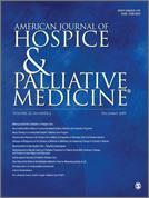 Palliative Care and Type II Diabetes: A Need for New Guidelines? Vincent Vandenhaute, MD1,2,3 AM J HOSP PALLIAT CARE, November 2010; vol. 27, 7: pp.