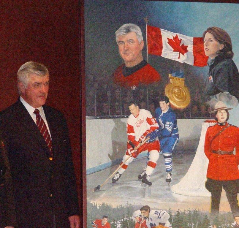 Pat Quinn, A Great Canadian and Honourable Friend Michel Pelletier In recognition of Pat Quinn s support and friendship to the RCMP and the RCMP Veterans Association.