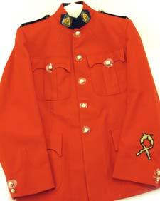 Pass on your uniform! The RCMP Pipes and Drum Band are looking for Red Serge tunics and ceremonial belts.