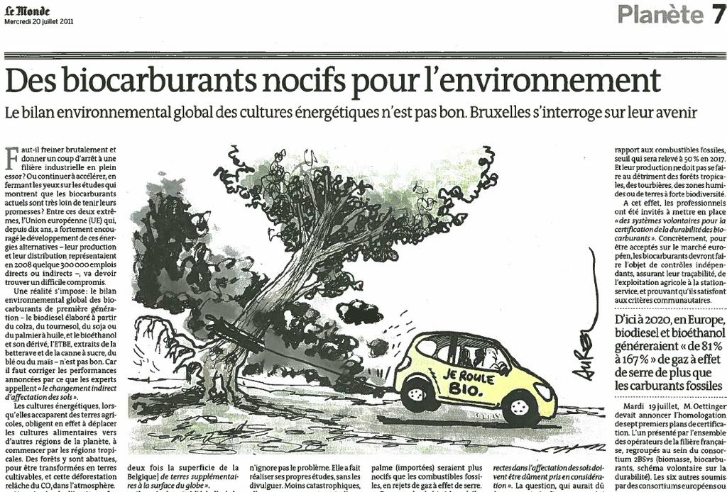 Biocarburants et