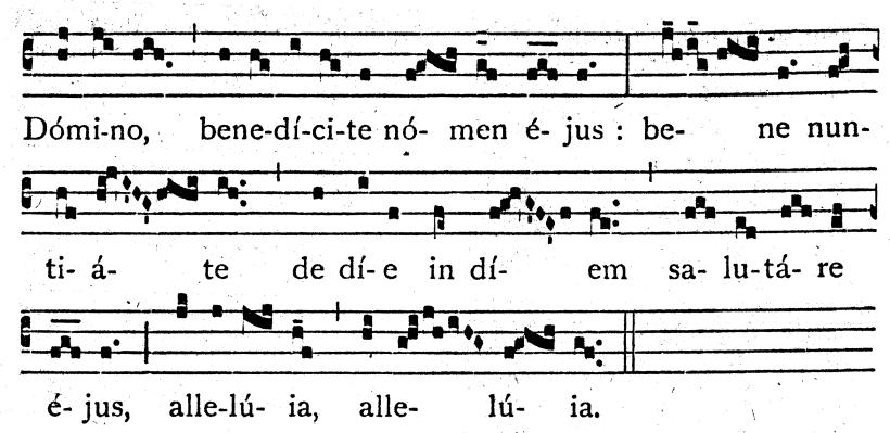 A guide to chant in charles tournemires lorgue mystique pdf figure 128 cantate domino communion chant pr 729 730 sing to fandeluxe Images