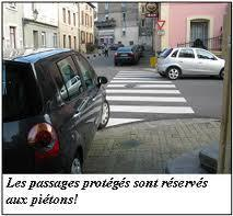 les passages ou accotements