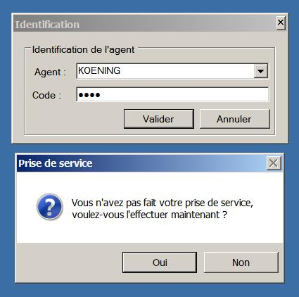 Un message de confirmation apparait.