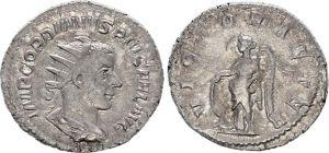 AVG C. 357 Gordien III (244-238) VIRTVS AVG C.