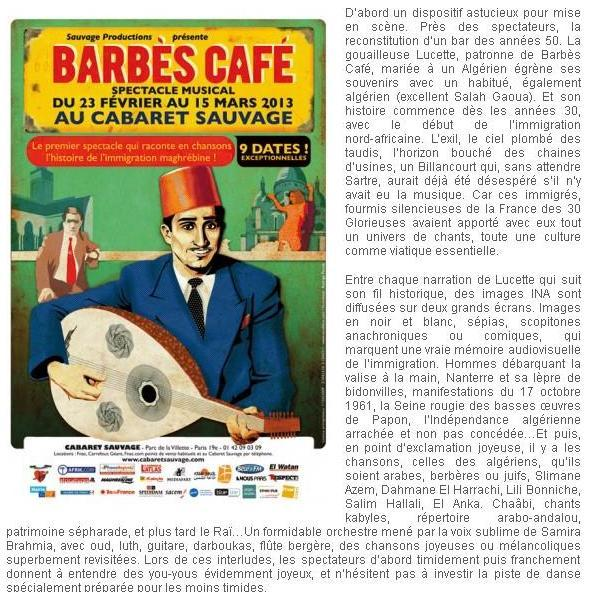 BARBES CAFE