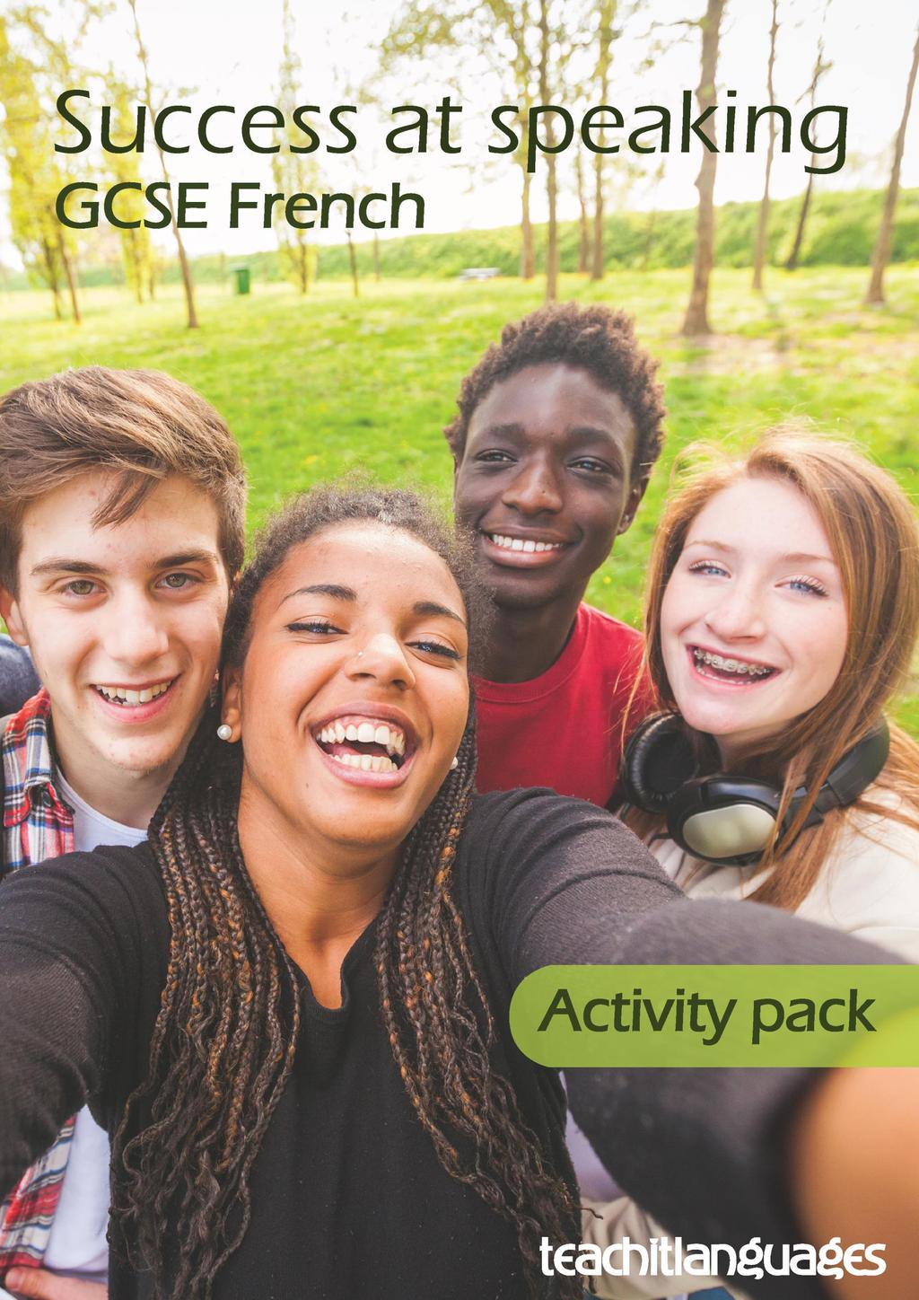 Success at speaking GCSE French speaking