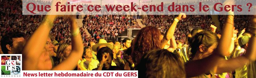 sorties gers week end