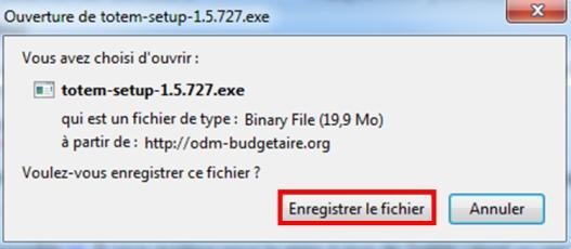 IV) Télécharger TotEM Client 11. L application TotEM Client est téléchargeable à partir du site http://odm-budgetaire.org/ 12.