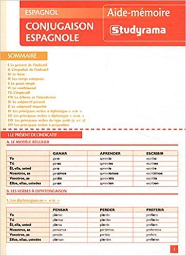 Conjugaison Espagnole Pdf Telecharger Lire Telecharger Lire English Version Download Read Description Pdf Telechargement Gratuit