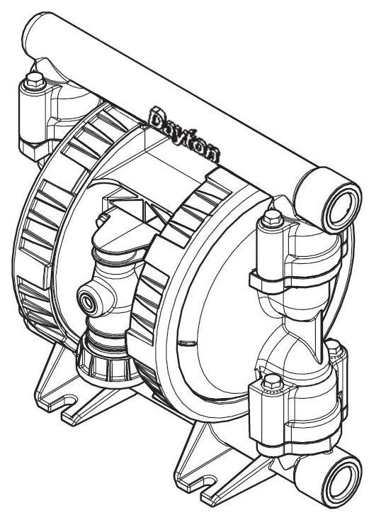 Operating Instructions Parts Manual 1 Air Operated Diaphragm